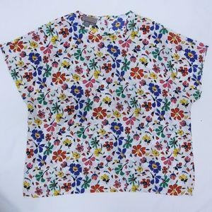 Liz Baker Women's Plus Size 2X Floral Top